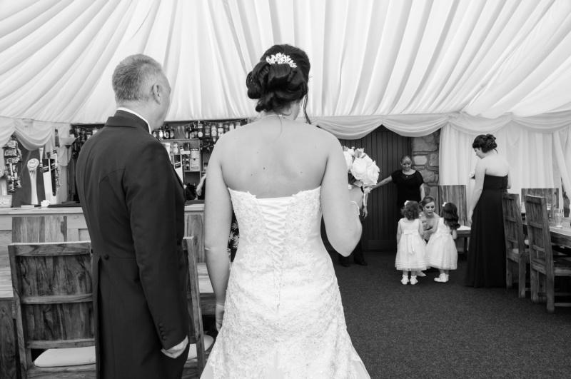 Bride arriving-15