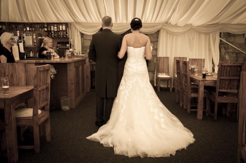 Bride arriving-21