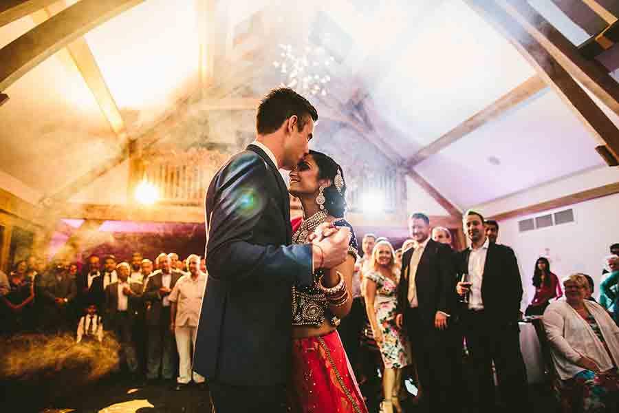 wedding photograph of First Dance