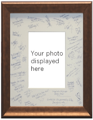 Signature Frames | Cadremont wedding photograph framing