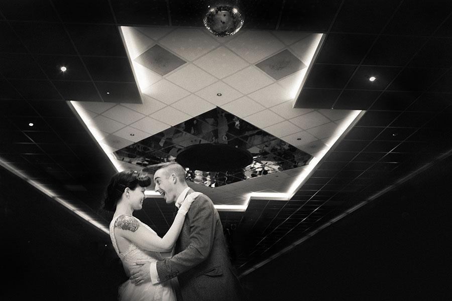 Wedding photography rockabilly wedding dance