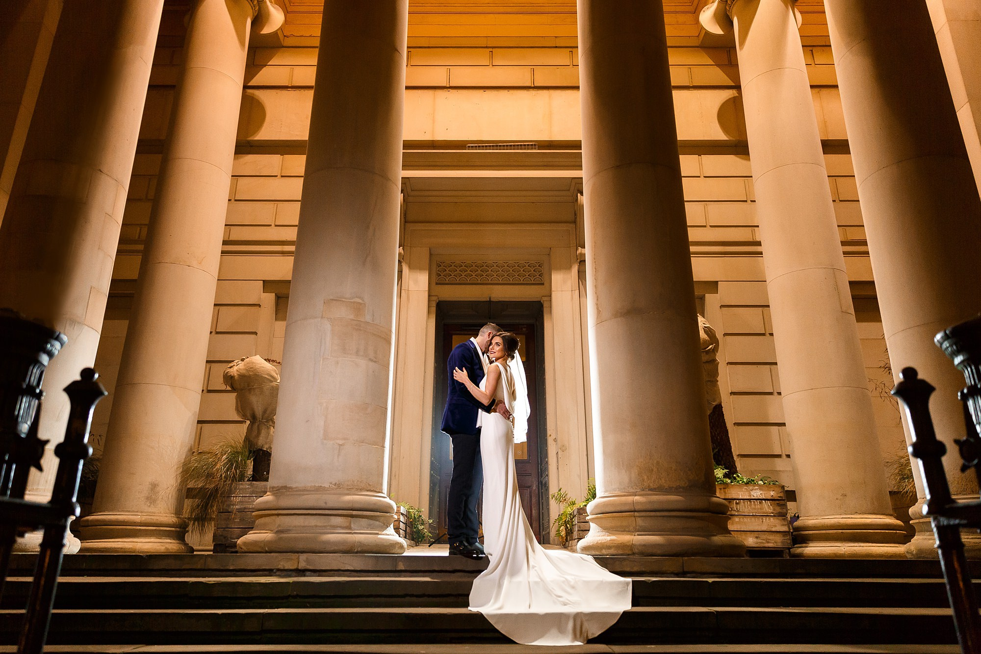 Real Wedding: James and Rebecca's wedding at Manchester Art Gallery