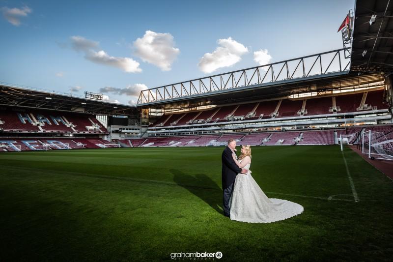 Boleyn Ground West Ham United Wedding!<br /><br />Graham Baker Photography<br />London Kent and the South East Wedding Photographer