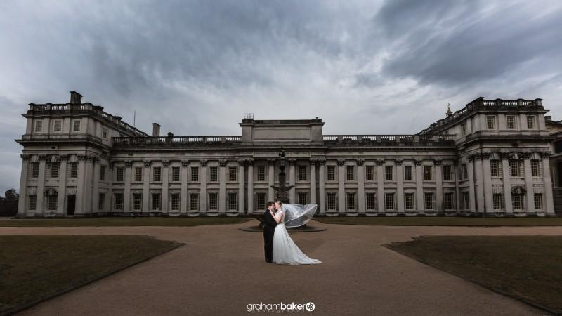 Old Royal Naval College Greenwich London Wedding<br /><br />Graham Baker Photography<br />London Kent and the South East Wedding Photographer