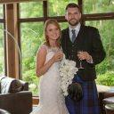 wedding photography Lodge on the Loch