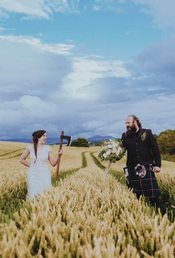 John Elphinstone Stirling - Wedding Photography