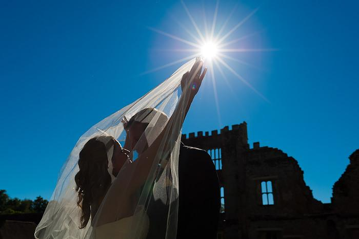 Wedding Photography Hot Shot: Sunburst and veil