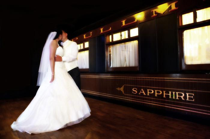 wedding photography on the Orient Express