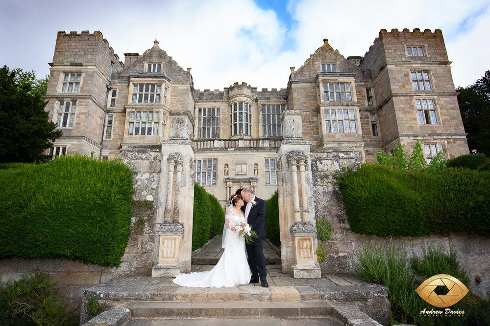 Bride and Groom at Fountains Abbey