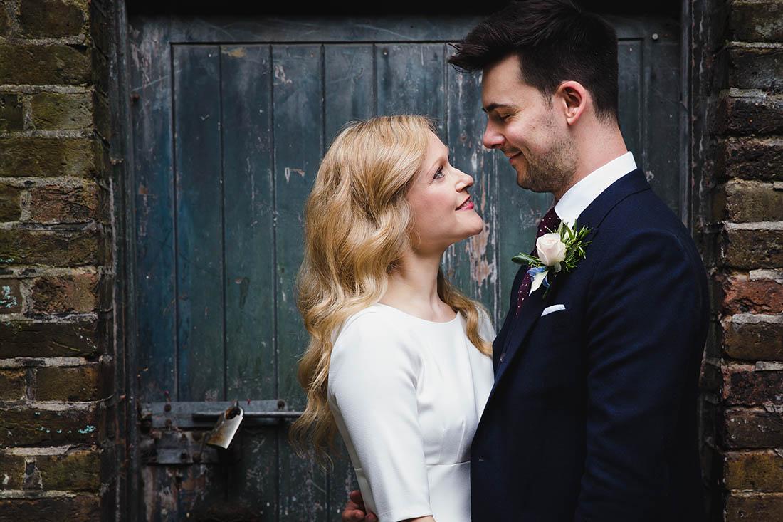 Wedding Portrait by London Wedding Photographer