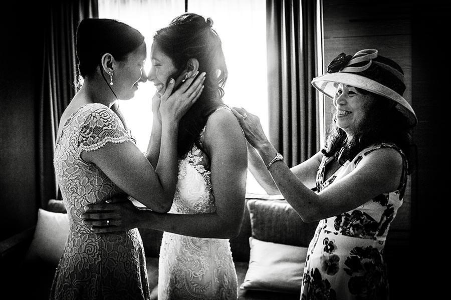 Mother of Bride with daughter